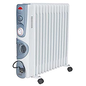 VOX (X-OD13TF) 13 Fin Oil Filled Heater - White