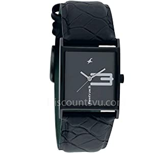 Fastrack New OTS-Upgrade Analog Black Dial Women's Watch