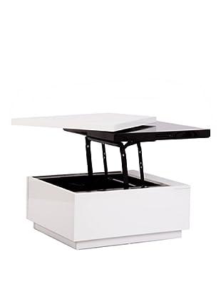 Mesa Centro Blanco/Negro