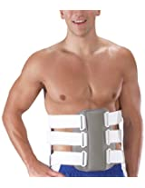 Bilt-Rite Mastex Health LSO-Rite 2 Body Jacket, Grey, Large