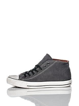 Converse Zapatillas All Star Clean (Antracita / Rojo)