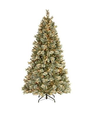 National Tree Company 7.5' Virginia Blue Pine Medium Hinged Tree