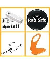 Combo Of Callmate 2600mAh Power Bank + 3.5 mm Stereo Handfree Kit + Anti-radition Sticker + Mobile Hanger