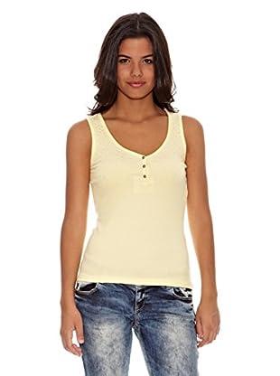 Cipo & Baxx Camiseta Tammy (Amarillo)