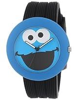 Sesame Street Sw614Cm-1 Cookie Monster Rubber Watch Case