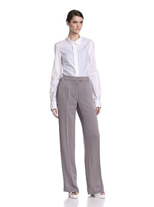 Ann Demeulemeester Women's Sleek Trousers (Pearl)