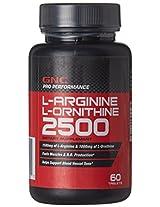 GNC L-Arginine and L-Ornithine - 60 Tablets