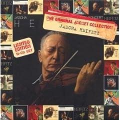 輸入盤CD ハイフェッツ録音集 Original Jacket Collection: Jascha Heifetz(10枚組)の商品写真