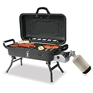 Blue Rhino GBT1030 Portable Propane Barbecue Grill with Griddle and Stove