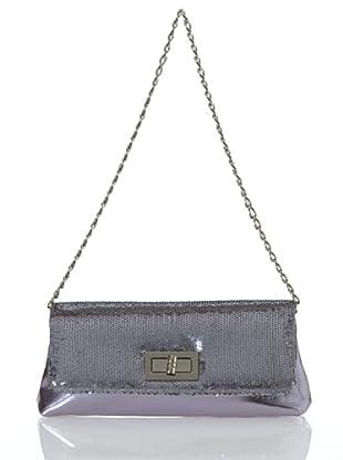 Lola Casademunt Bolso Tapa Brillantes (gris)
