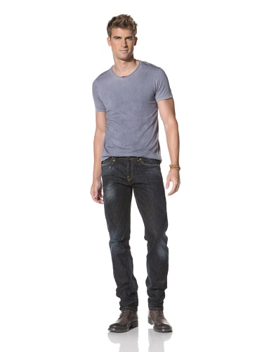R13 Men's Slim Classic Jean (Dark Blue)