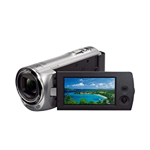 Sony HDR-CX220E 8.9MP Memory Stick Memory Camcorder - Red