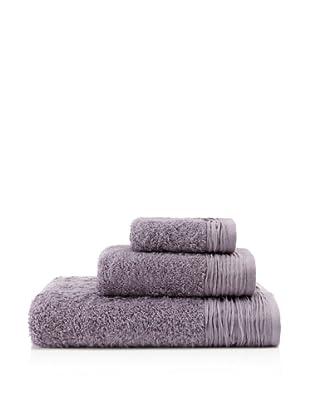 Pure Fiber 3-Piece Pleated Oversize Bath Towel Set