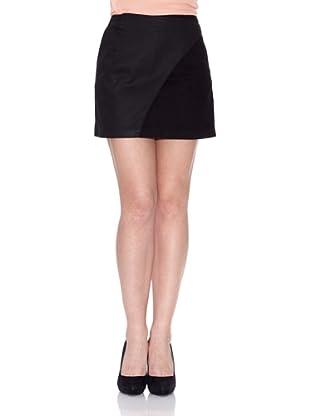 Salsa Minifalda Vaquera (Negro)