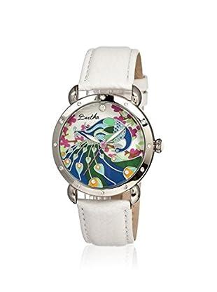 Bertha Women's BR2807 Didi White/Multicolor Leather Watch