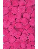 "Creativity Street Pom Pons 100-Piece x 1/2"" Hot Pink"