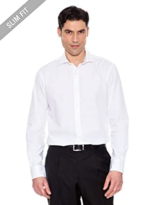 Pedro Del Hierro Camisa Lisa (Blanco)