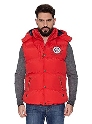 Geographical Norway Chaleco Veron Men 5 Repeat (Rojo / Azul marino)