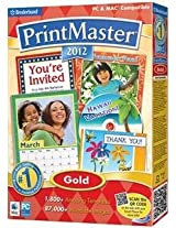 Brand New Printmaster 2012 Gold Dsa (Works With: WIN XP VISTA WIN 7/MAC 10.1 OR LATER UB)