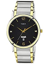 Timex Classics Analog Black Dial Men's Watch - TW000R425