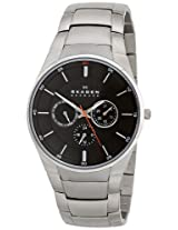 Skagen Analog Grey Dial Men's Watch - SKW6054