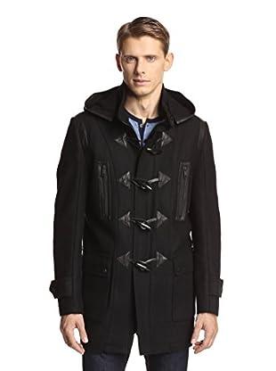 Andrew Marc Men's Pierce Elongated Toggled Wool Coat