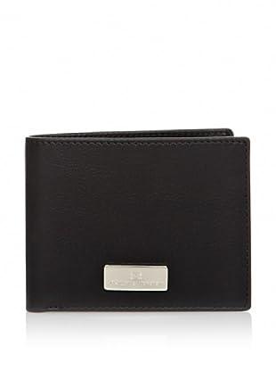 PHILIPPE VANDIER Brieftasche Aplique schwarz