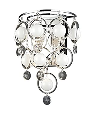 Lite Source Bubbles LED Sconce, Chrome