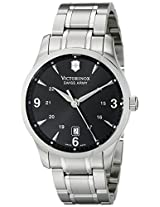 Victorinox Men's 241473 Alliance Analog Display Swiss Quartz Silver Watch