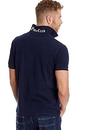 POLO CLUB CAPTAIN HORSE ACADEMY Poloshirt Custom Fit Logo Small