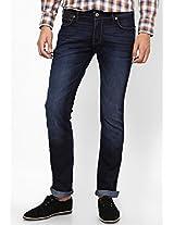 Dark Blue Slim Fit Jeans (Skanders) Wrangler
