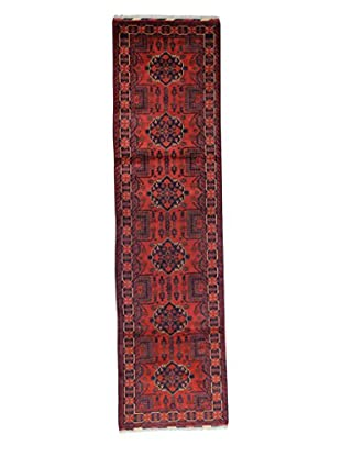 Bashian Rugs Hand-Knotted Afghan Rug, Red, 2' 9