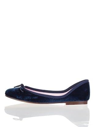 Vilagallo Zapatos Terciopelo (Azul)