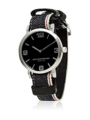 South Lane Reloj de cuarzo Unisex South Lane Signature Collaboration Selvedge Denim 40 mm