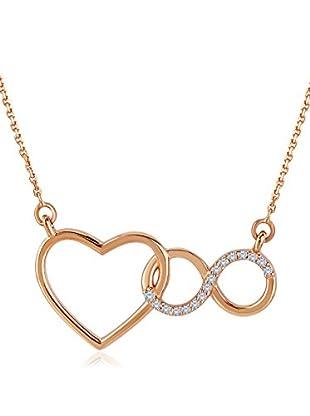Divas Diamond Collar Diamond Heart Infinity