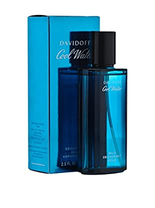 Davidoff Deodorant Spray Cool Water 75.0 ml, Preis/100 ml: 22.65 EUR