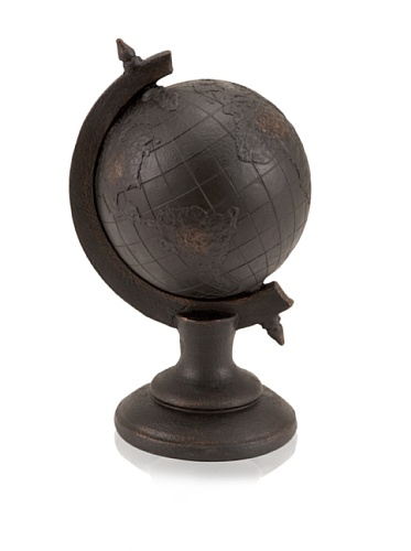 Industrial Chic Standing Globe