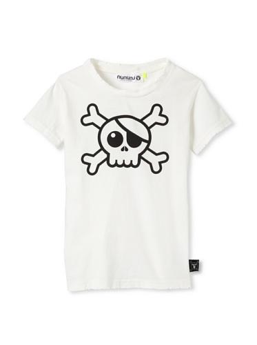 NUNUNU Kid's Pirate Tee (White)