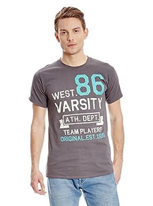 Varsity Team Players Camiseta Manga Corta West 86
