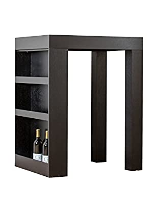 Abbyson Living Kinlin Wood Bar Table, Brown