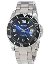 Armitron Men's 204622DBSV Stainless Steel Bracelet and Blue Dial Sport Watch