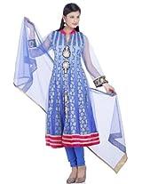 Chhabra555 Nylon Blue Net Salwar Suit Set EJEG1969-M