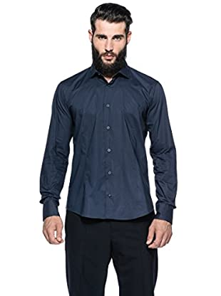 Romeo Gigli Milano Camisa (Azul Oscuro)