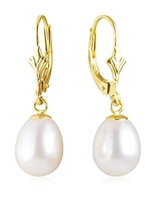 Manufacture Royale des Perles du Pacifique Ohrringe  weiß