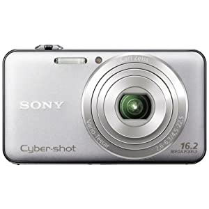 Sony Cyber-shot DSC-WX50 16.2MP Point-and-Shoot Digital Camera (Silver) with Camera Case