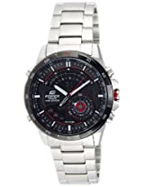 Casio Edifice Analog-Digital Black Dial Men's Watch - ERA-200DB-1AVDR (EX106)