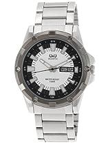 Q&Q Standard Analog White Dial Men's Watch A150J401Y