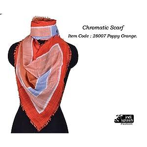 Indisplash Fashion Chromatic Scarf
