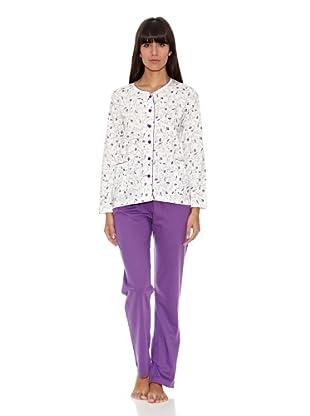 Asman Pijama Señora Verano (Morado)