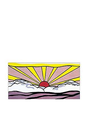 ArtopWeb Panel de Madera Lichtenstein Sunrise 46x95 cm